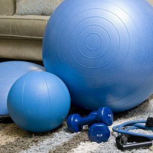 Entrenamiento en casa (fitness)